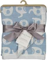 Living Textiles Cotton Muslin Jacquard Baby