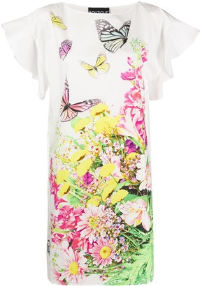 Boutique Moschino Floral-Print Shift Dress