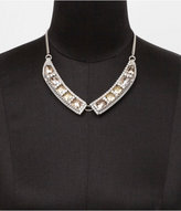 Faceted Peter Pan Collar Necklace