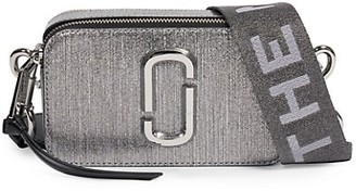 Marc Jacobs The Snapshot Metallic Leather Camera Bag