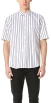 Our Legacy Initial Short Sleeve Stripe Shirt