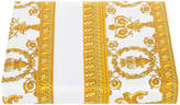 Versace Barocco & Robe Duvet Cover - Super King - White/Gold