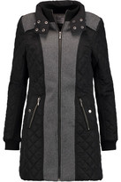 Tart Collections Corey Felt And Quilted Shell Coat