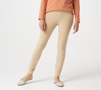 Denim & Co. Comfy Knit Pull-On Ankle Jeggings