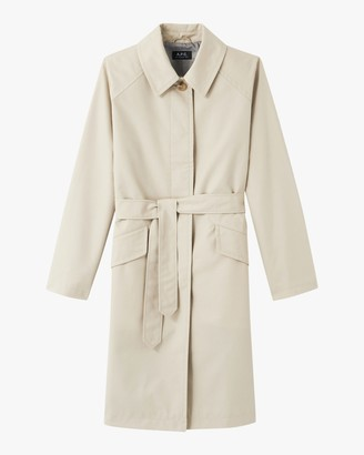 A.P.C. Mac Lucienne Trench Coat