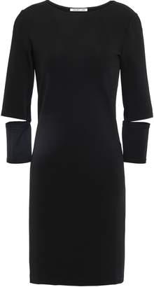 Helmut Lang Cutout Jersey Mini Dress
