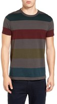 French Connection Men's Shatter Stripe T-Shirt