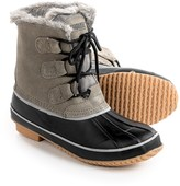 Khombu Alyssa Pac Boots - Waterproof, Insulated, Suede (For Women)