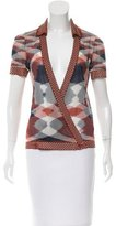 Missoni Short Sleeve Space-Dyed Top