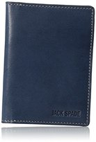Jack Spade Men's Mitchell Leather V-Flap Wallet