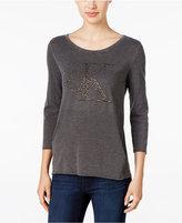 Calvin Klein Jeans Metallic Graphic Top
