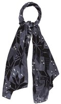 Julien David Silk Geometric Scarf