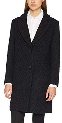 Sisley Women's Mid-Lenght Coat (Black 903), (Size: 44)