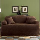 Sure Fit Sure FitTM Faux-Suede T-Cushion Sofa Slipcover