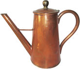 One Kings Lane Vintage Copper and Brass Coffeepot