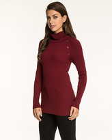 Le Château Viscose Blend Turtleneck Sweater