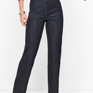 Talbots Wide Leg Jeans - Rivington Wash