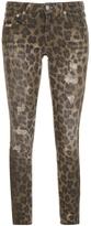 R 13 Leopard Kate Skinny Jean