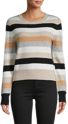 Naadam Striped Cashmere Sweater