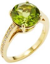 Rina Limor Fine Jewelry Women's 18K Gold Peridot & Diamond Ring