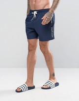 Calvin Klein ID Logo Tape Swim Shorts