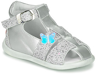 GBB GASTA girls's Sandals in Silver