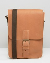 Asos Made In Englandleather Flight Bag