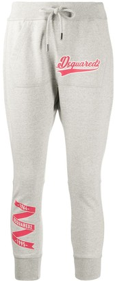 DSQUARED2 Cropped Logo Track Trousers