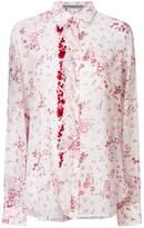 Ermanno Scervino floral ruffle trim shirt