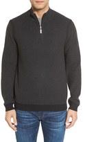 Tommy Bahama Men's 'Make Mine A Double' Reversible Quarter Zip Sweater