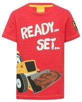 M&Co JCB ready set lets get digging slogan t-shirt