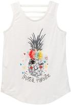 Jessica Simpson Pineapple Jersey Tank Top (Little Girls)