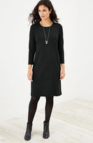 J. Jill Ponte Knit Seamed Dress