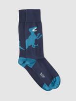 Paul Smith Dino Jacquard Sock
