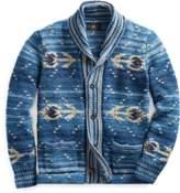 Ralph Lauren Hand-Knit Indigo Cardigan