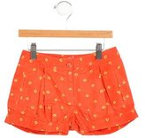 Stella McCartney Girls' Floral Print Shorts