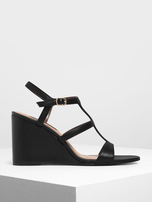 Charles & Keith Strappy Wedges