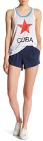 Chaser Pleated Flounce Short