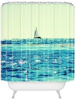 DENY Designs Sailing Shower Curtain