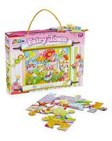 Fashion World Fairy Town Floor Puzzle