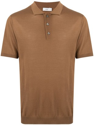Closed Short-Sleeved Wool Polo Shirt