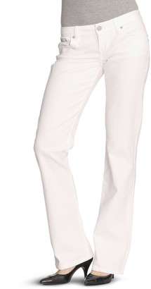 LTB boot Cut Women's Jeans Wei (White 100) W26/L34