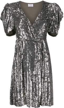 P.A.R.O.S.H. Short Sleeve Embellished Dress
