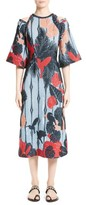 Yigal Azrouel Women's Jacquard Cold Shoulder Dress