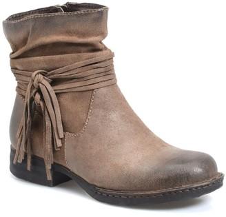 Børn Cross Leather Boot
