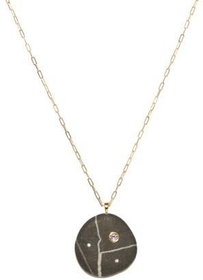 Cvc Stones Phantom Diamond & 18kt Gold Necklace - Black
