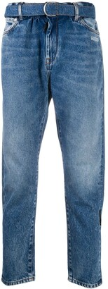 Off-White Slim Low Crotch Jeans
