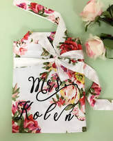 Etsy Personalized bridal Robe, Ivory Bride Floral Robe, Delivery Gown, bridesmaids gift, wedding party, w