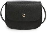 Amici Accessories Mini Crossbody Saddle Bag - Black