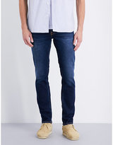 Nudie Jeans Grim Tim Slim-fit Tapered Jeans